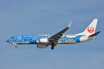 ktaroさんが、羽田空港で撮影した日本トランスオーシャン航空 737-8Q3の航空フォト(飛行機 写真・画像)