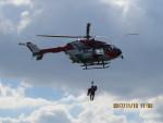 sp3混成軌道さんが、岡南飛行場で撮影した岡山市消防航空隊 BK117C-2の航空フォト(写真)