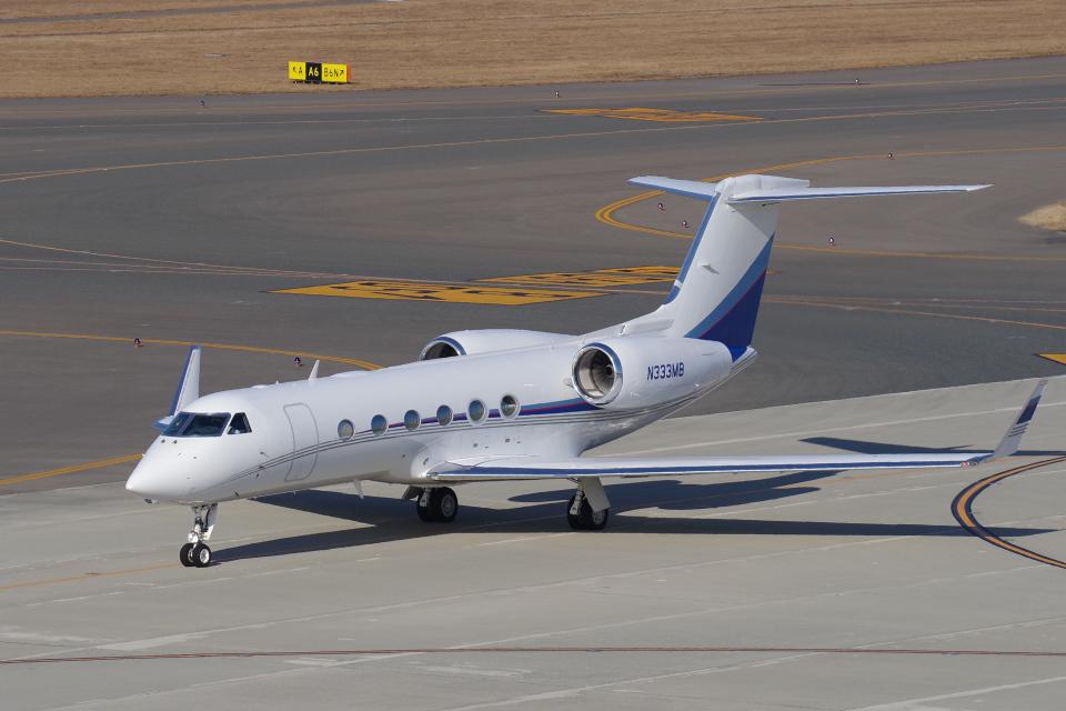 yabyanさんのアメリカ個人所有 Gulfstream Aerospace G350/G450 (G-IV) (N333MB) 航空フォト