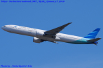Chofu Spotter Ariaさんが、成田国際空港で撮影したガルーダ・インドネシア航空 777-3U3/ERの航空フォト(写真)