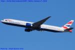 Chofu Spotter Ariaさんが、成田国際空港で撮影したブリティッシュ・エアウェイズ 777-336/ERの航空フォト(写真)