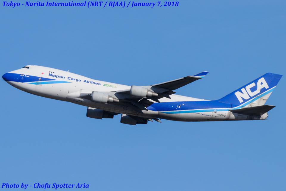 Chofu Spotter Ariaさんの日本貨物航空 Boeing 747-400 (JA08KZ) 航空フォト
