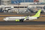 prado120さんが、羽田空港で撮影したソラシド エア 737-81Dの航空フォト(写真)