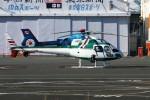 Spot KEIHINさんが、東京ヘリポートで撮影したアカギヘリコプター AS350B Ecureuilの航空フォト(写真)