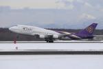 sumihan_2010さんが、新千歳空港で撮影したタイ国際航空 747-4D7の航空フォト(写真)