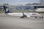 キイロイトリ1005fさんが、関西国際空港で撮影した山東航空 737-85Nの航空フォト(写真)