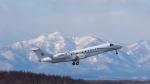 うみBOSEさんが、新千歳空港で撮影した東方公務航空 EMB-135BJ Legacy 650の航空フォト(写真)