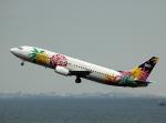 チャーリーマイクさんが、羽田空港で撮影したスカイネットアジア航空 737-4Y0の航空フォト(写真)