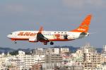 KAW-YGさんが、那覇空港で撮影したチェジュ航空 737-8ASの航空フォト(写真)