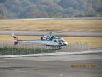 sp3混成軌道さんが、高松空港で撮影したアカギヘリコプター AS350B2 Ecureuilの航空フォト(写真)