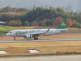 F.YUKIHIDEさんが、高松空港で撮影した春秋航空 A320-214の航空フォト(飛行機 写真・画像)