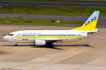 B.K JEONGさんが、羽田空港で撮影したAIR DO 737-54Kの航空フォト(飛行機 写真・画像)