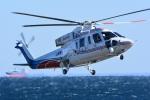 storyさんが、横浜ヘリポートで撮影した山梨県防災航空隊 S-76Bの航空フォト(写真)