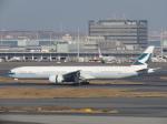 ✈︎十六夜空六✈︎さんが、羽田空港で撮影したキャセイパシフィック航空 777-367/ERの航空フォト(写真)