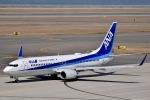 眠たいさんが、中部国際空港で撮影した全日空 737-881の航空フォト(写真)