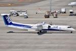 眠たいさんが、中部国際空港で撮影したANAウイングス DHC-8-402Q Dash 8の航空フォト(写真)