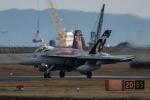 Ryusei10Rさんが、岩国空港で撮影したアメリカ海兵隊 F/A-18C Hornetの航空フォト(写真)
