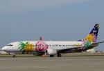 チャーリーマイクさんが、那覇空港で撮影したスカイネットアジア航空 737-43Qの航空フォト(写真)