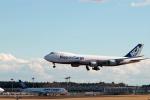 なまくら はげるさんが、成田国際空港で撮影した日本貨物航空 747-8KZF/SCDの航空フォト(写真)