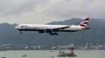 westtowerさんが、香港国際空港で撮影したブリティッシュ・エアウェイズ 777-336/ERの航空フォト(写真)