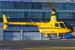Chofu Spotter Ariaさんが、東京ヘリポートで撮影した日本個人所有 R66 Turbineの航空フォト(飛行機 写真・画像)