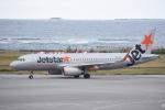 kumagorouさんが、那覇空港で撮影したジェットスター・アジア A320-232の航空フォト(飛行機 写真・画像)