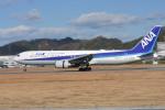 いんちょーさんが、松山空港で撮影した全日空 767-381/ERの航空フォト(写真)