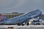 GRX135さんが、新千歳空港で撮影したチャイナエアライン 747-409の航空フォト(写真)
