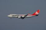 we love kixさんが、関西国際空港で撮影したカーゴルクス・イタリア 747-4R7F/SCDの航空フォト(写真)