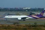 reonさんが、スワンナプーム国際空港で撮影したタイ国際航空 777-3AL/ERの航空フォト(写真)