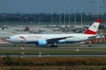 reonさんが、スワンナプーム国際空港で撮影したオーストリア航空 777-2Z9/ERの航空フォト(写真)