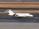 51ANさんが、羽田空港で撮影したTAG エイビエーション・アジア CL-600-2B16 Challenger 605の航空フォト(写真)