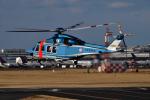harahara555さんが、成田国際空港で撮影した千葉県警察 AW139の航空フォト(写真)