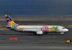 チャーリーマイクさんが、羽田空港で撮影したスカイネットアジア航空 737-4M0の航空フォト(写真)
