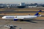 トロピカルさんが、羽田空港で撮影したスカイマーク A330-343Xの航空フォト(写真)