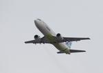 T.Sazenさんが、関西国際空港で撮影したエアプサン 737-48Eの航空フォト(飛行機 写真・画像)