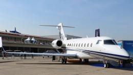 westtowerさんが、ル・ブールジェ空港で撮影したガルフストリーム・エアロスペース G200/G250/G280の航空フォト(写真)
