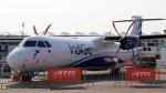 westtowerさんが、ル・ブールジェ空港で撮影したインディゴ ATR-72-600の航空フォト(写真)