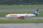 かずまっくすさんが、シンガポール・チャンギ国際空港で撮影したライオン・エア 737-9GP/ERの航空フォト(写真)