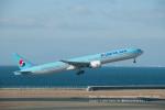 かみきりむしさんが、中部国際空港で撮影した大韓航空 777-3B5/ERの航空フォト(写真)