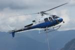 TRdenさんが、焼岳頂上付近で撮影した東邦航空 AS350B3 Ecureuilの航空フォト(写真)