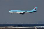 we love kixさんが、関西国際空港で撮影した大韓航空 747-8B5の航空フォト(写真)