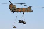 szkkjさんが、習志野演習場で撮影した陸上自衛隊 CH-47Jの航空フォト(飛行機 写真・画像)