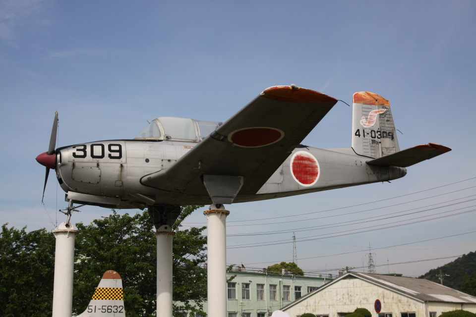 TRdenさんの航空自衛隊 Beechcraft 45 Mentor (41-0309) 航空フォト