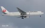RINA-200さんが、小松空港で撮影した日本航空 767-346の航空フォト(写真)