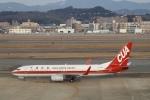 鷹輝@SKY TEAMさんが、福岡空港で撮影した中国聯合航空 737-89Pの航空フォト(写真)