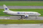PASSENGERさんが、シンガポール・チャンギ国際空港で撮影したトライエムジー イントラ アジア エアラインズ 737-36N(SF)の航空フォト(写真)