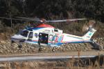 batilsさんが、菰野町役場付近で撮影した三重県防災航空隊 AW139の航空フォト(写真)