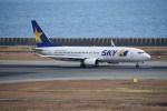 kumagorouさんが、神戸空港で撮影したスカイマーク 737-86Nの航空フォト(写真)
