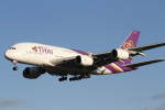プルシアンブルーさんが、成田国際空港で撮影したタイ国際航空 A380-841の航空フォト(写真)